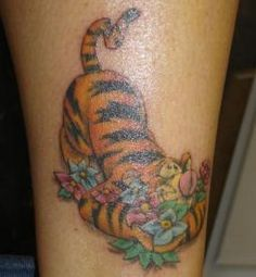 tigger Tattoos for Women | Pinterest tigger tattoo | ... Cartoon Dragon Coloring Pages Baby Page ...