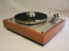 Thorens TD-160Super Reproduction in Solid Brazilian Cherry w/SME 3009 Tonearm, Extras, $1695 plus shipping