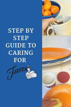 Tips and tricks for caring for your Fiesta Dinnerware on the Fiesta blog at alwaysfestive.com