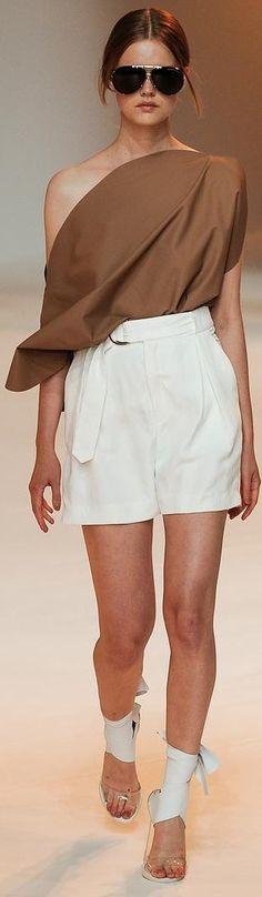 Porsche Design RTW Spring 2015 women fashion outfit clothing style apparel @roressclothes closet ideas