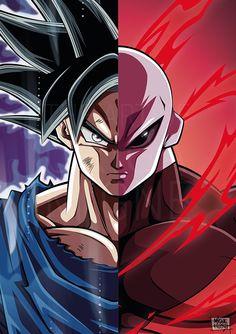 Risultati immagini per goku vs jiren Dragon Ball Gt, Dragon Z, Dragon Super, Goku Super, Foto Do Goku, Goku Vs Jiren, Goku Ultra Instinct, Goku Wallpaper, Chibi
