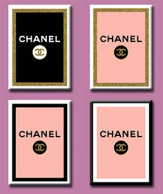 Limited Edition Printable Chanel Logo Gold by Chanel Poster, Chanel Logo, Coco Chanel, Replica Perfume, Chanel Stickers, Perfume Chanel, Chanel Party, Chanel Decor, Party Printables