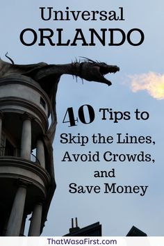 Wondering how to skip the lines and avoid the crowds at Universal Orlando? These tips will show you how! Also included are our best money saving tips for vacationing at Universal Studios on a budget. Orlando Travel, Orlando Vacation, Florida Vacation, Florida Travel, Orlando Florida, Universal Orlando, Hard Rock Universal, Universal Studios Florida, Best Money Saving Tips