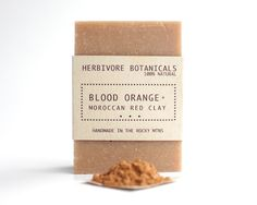 Items similar to Blood Orange Soap. Soap Packaging, Packaging Ideas, Diy Gifts, Handmade Gifts, Vegan Soap, Body Soap, Cold Process Soap, Blood Orange, Soap Making
