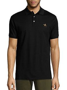Ralph Lauren Classic Solid Polo - Black - Size