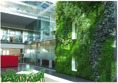 Biotecture provides innovative, flexible, modular green wall systems, offering a new level of sustainability in living walls. Vertical Green Wall, Vertical Garden Design, Vertical Gardens, Hydroponic Gardening, Hydroponics, Outdoor Walls, Outdoor Spaces, Plans Architecture, Escalade
