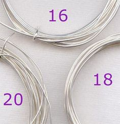 Understanding wire for jewelry making | - Crafting For Holidays