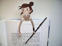 Rey Star Wars The Force Awakens bookmark