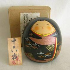 "Modern Creative Kokeshi, Toa Sekiguchi, 4-1/8"""