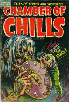 Comic Book Cover For Chamber of Chills Magazine #20