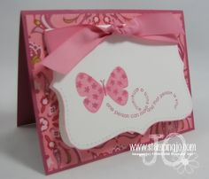 flight of the butterfly by stampin' up