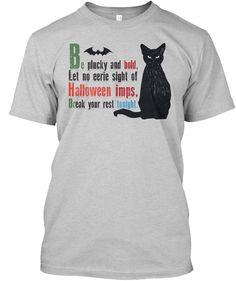 #Halloween Imps T Shirts Light Steel T-Shirt Front