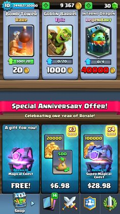Inferno Dragon with a free Magical Chest!