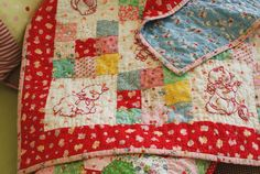 :: indeed, the weekend was a blast - nanaCompany great idea for my next grand child's quilt