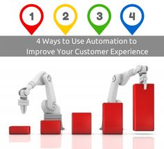 Four Ways to Use Automation to Improve Customer Experience Management #Automation #customer_management