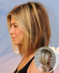 Long Angled Bob For Fine Hair   Google Search · Long Face  HairstylesHairstyles ...