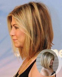 long angled bob for fine hair - Google Search