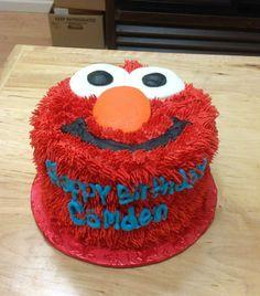 Elmo Cake.  Sara's Sweets Bakery Grand Rapids MI