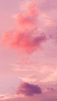 Pink Aesthetic Discover Morandi Color Wallpaper iphone Pink sky with morandi color background. Pink Clouds Wallpaper, Color Wallpaper Iphone, Night Sky Wallpaper, Cloud Wallpaper, Colorful Wallpaper, Pink Background Wallpapers, Baby Wallpaper, Ciel Rose, Pastel Clouds