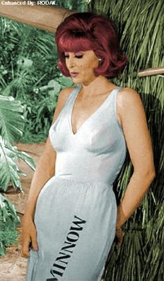 "Tina Louise as Ginger Grant on ""Gilligan's Island"" Hairstyles For Round Faces, Vintage Hairstyles, Summer Hairstyles, Messy Hairstyles, Wedding Hairstyles, Redhead Hairstyles, Ginger Grant, Red Hair Woman, Tina Louise"
