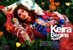 Keira Knightley for Glamour US July 2014