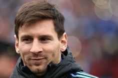 Lionel Messi #10 of Argentina looks on before playing El Salvador during an International Friendly at FedExField on March 28, 2015 in Landover, Maryland.
