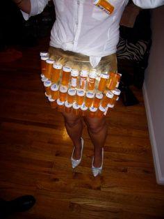 my handmade halloween costume last year, Pharmacist!!