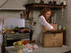 "The kitchen in ""Under the Tuscan Sun."""