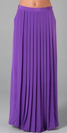 I want a maxi skirt!