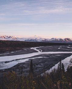 Trapper Creek, Alaska by hunterdayphoto