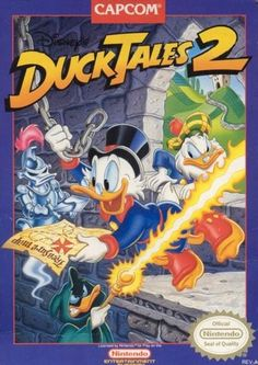 #DuckTales 2 - Label or Box Art #nintendo games #gamer #snes #original #classic #pin #synergeticideas #gameon #play #award