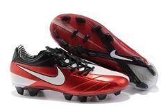 eb7132ebd Latest Listing Cheap Nike Total 90 Laser IV FG red white black Soccer Shoes  For Sale