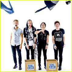 The Vamps are down to do some good! The guys - Brad Simpson, James McVey, Connor Ball, and Tristan Evans ...
