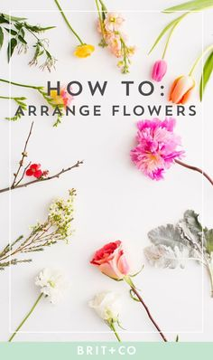 Flower Garden Read these tips to learn how to properly arrange various flowers, for Valentine's Day beyond. - A bouquet by any other name would be as gorg. Ikebana, Diy Flowers, Beautiful Flowers, Wedding Flowers, Purple Flowers, Wedding Flower Decorations, Exotic Flowers, Yellow Roses, Pink Roses