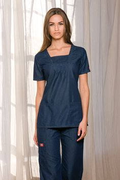 Denim Designs by Dickies! #Dickies #Nurses #Scrubs