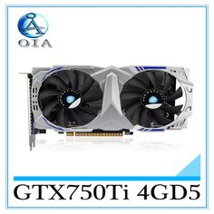 147.25$  Buy here - http://aliaoq.worldwells.pw/go.php?t=32766203487 - New Original Desktop Graphics Card GTX750Ti 4GD5 video card  Wolf 1020/5200 640SP desktop computer independent  game  card