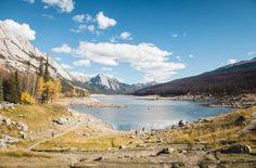 Medicine Lake im Jasper Nationalpark