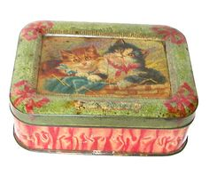 British Biscuit Tins - 1902 Carr&Co