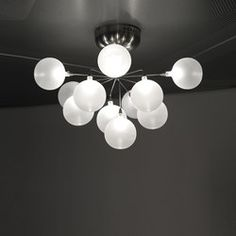 Cluster ceiling-/wall lamp 11 | General lighting | HARCO LOOR