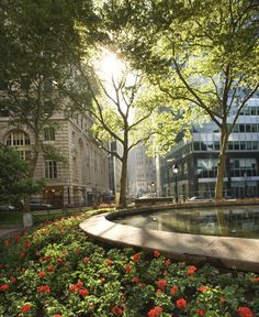 """Bowling Green Park, NYC . I have been here; it was once the seat of the old Dutch government and they """"bowled"""" on the green!"""