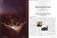 Oncourse Magazine by Thomas Carter, via Behance