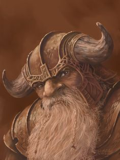 Dwarf Portrait by JohnDotegowski on DeviantArt