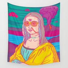 WTFALYPSE LOL! Wall Tapestry by John Tibbott. Worldwide shipping available at Society6.com. Just one of millions of high quality products available.