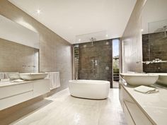 Ceramic in a bathroom design from an Australian home - Bathroom Photo 160795