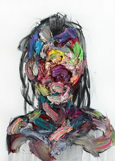 "Saatchi Online Artist: KwangHo Shin; Oil, 2013, Painting ""[101] untitled oil & charcoal on canvas 73 x 53.2 cm 2013"""