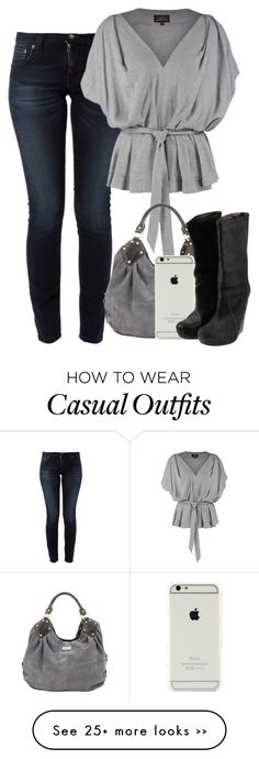 """""""cute casual outfit"""" by cloudybooks on Polyvore"""