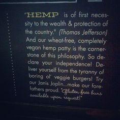 Hemp and Thomas Jefferson