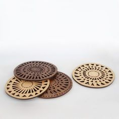 Geometric Coasters from Henderson Dry Goods