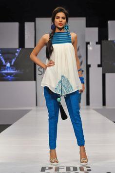 Zainab Sajid at PFDC Sunsilk Fashion Week 2012 Karachi Day 2