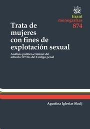 Iglesias Skulj, Agustina La trata de mujeres con fines de explotación sexual. Tirant lo Blanch, 2013